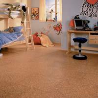 Korková podlaha udrží teplo